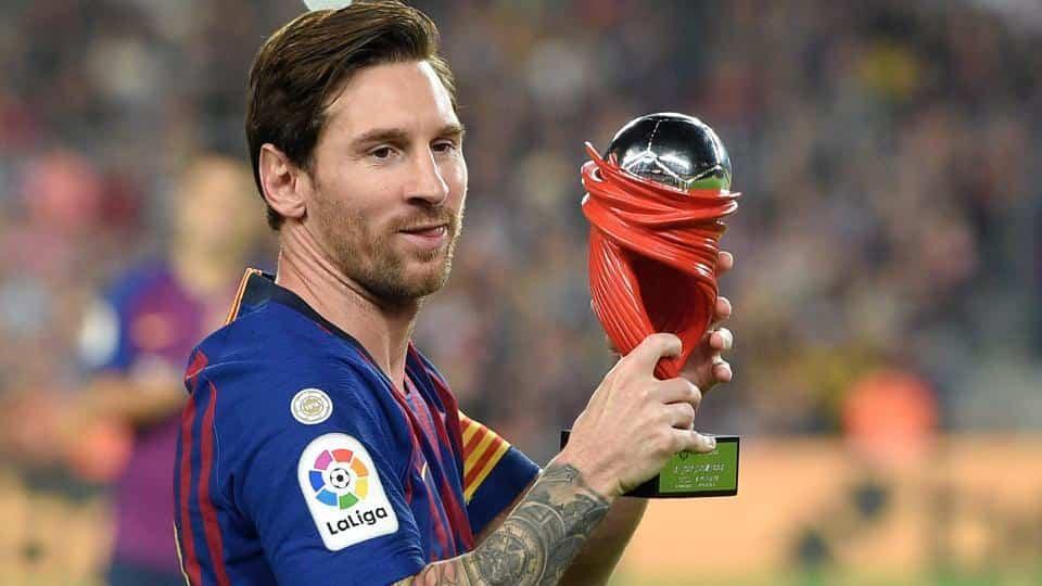 La Liga membuka wacana akan menjadikan Lionel Messi nama trofi pemain terbaiknya