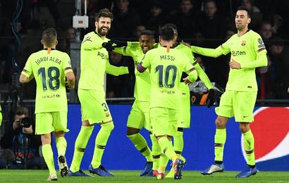 Hasil Liga Champions: Tundukkan PSV, Barcelona Juara Grup B