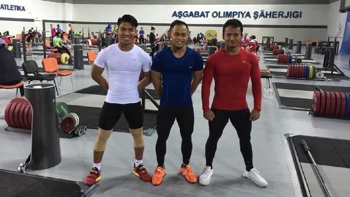 Deni Pede Hadapi Pemilik Emas Olimpiade di Kejuaraan Dunia Angkat Besi