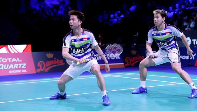 Dikalahkan Duo Tiongkok, Kevin / Marcus dalam Posisi Terjepit