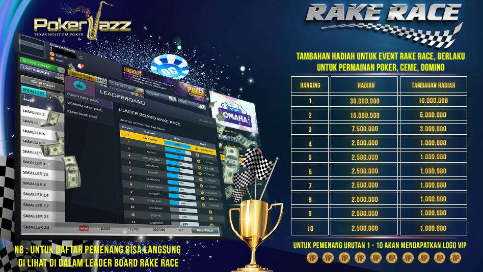 bonus event rake race