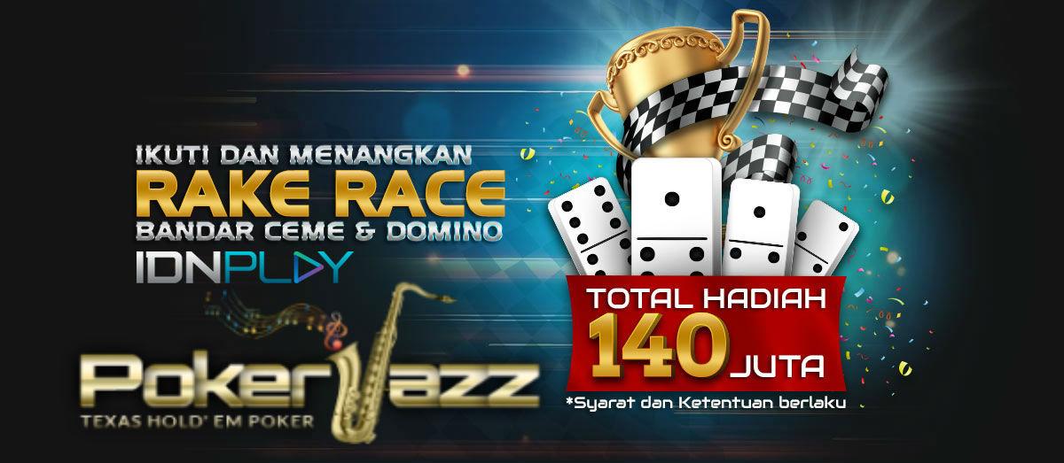 Pengertian Turnamen Rake Race IDNPlay PokerJazz