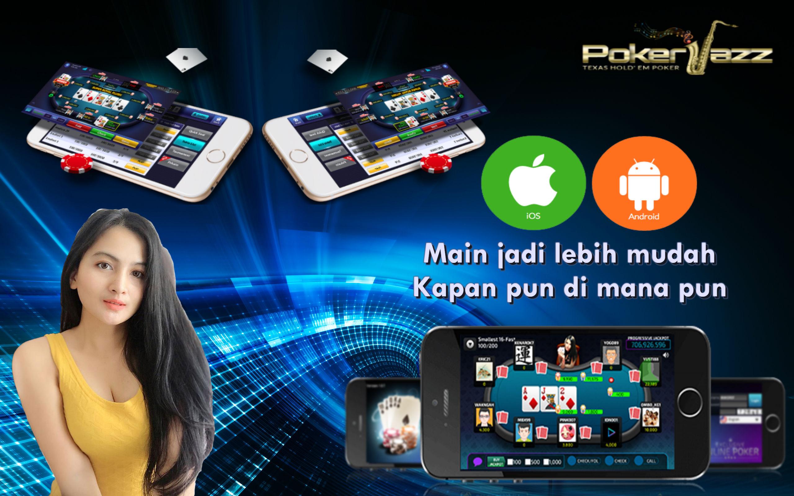 Kelebihan dan Keuntungan Bermain Poker Online Di Smartphone