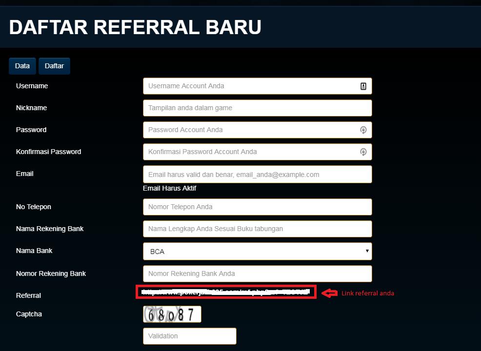 Tips Menghasilkan Bonus Referral dari Agen Judi Online