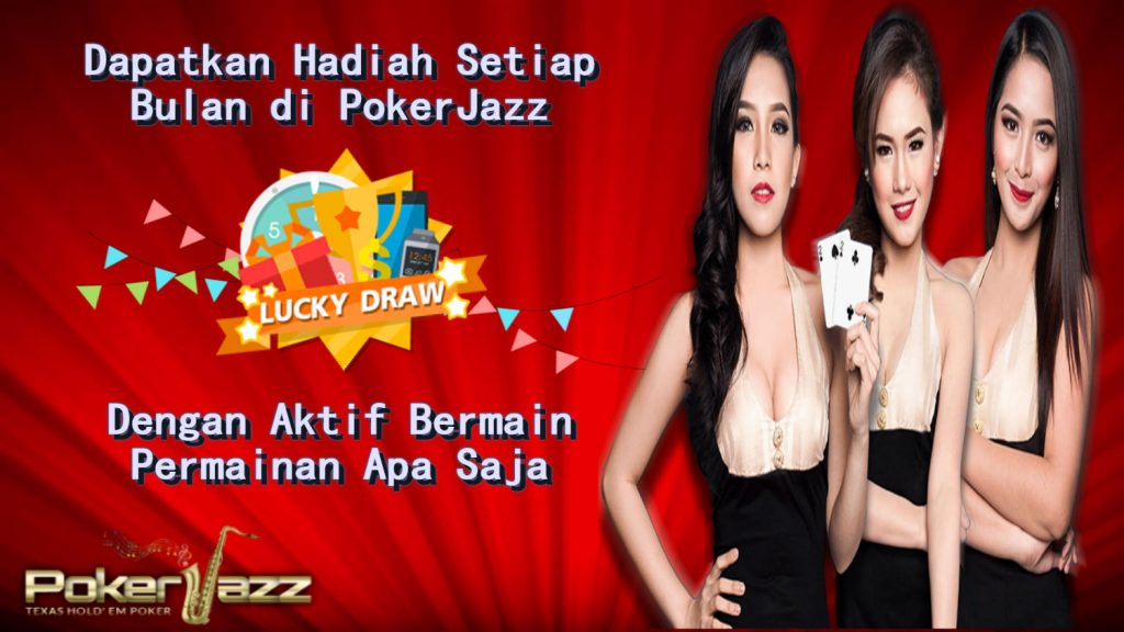 bonus event lucky draw pokerjazz